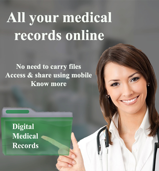 All your medical records are online